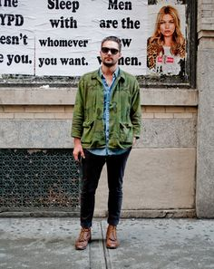 Ben Ferrari's New York Street Style - Best Dressed Men in NYC: Style: GQ