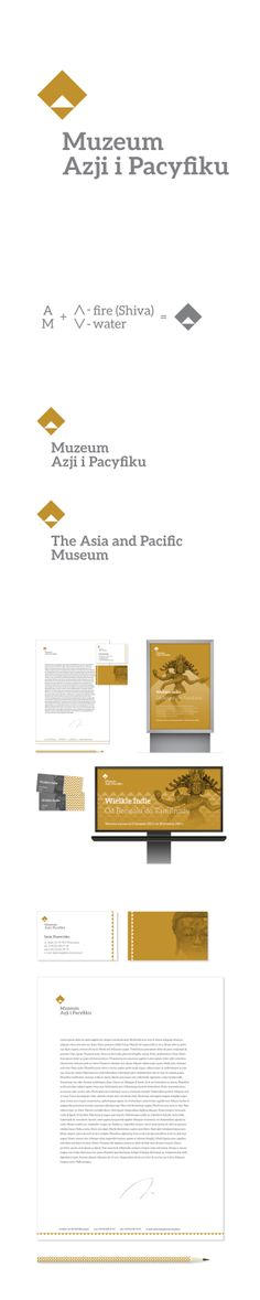 the asia and pacific museum by filip piasecki, via Behance