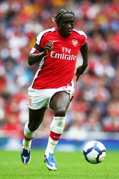 Meet Star Football Player Bacary Sagna with 2 Tickets to an Arsenal Match in London During the 2012-2013 Season