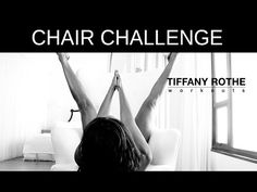 Lift your butt, work your abs, make your arms cut and sweat till you are dripping wet with this awesome chair workout! For healthy Food Plans and more great ...