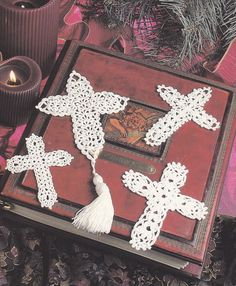 Cross Bookmarks Crochet Patterns