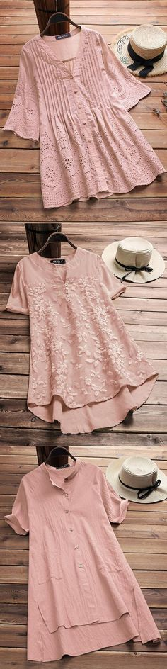[ UP TO 52% OFF ] Fashion casual womens tops. Super comfy material, best for spring, summer and fall. #season #style #pink