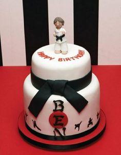Karate cake idea
