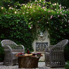 Garden Water, Water Features In The Garden, Side Garden, Ivy, Lush, Swimming Pools, Fountain, Sunday, Roses