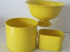 I love all things yellow