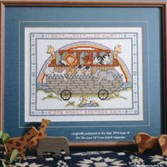 Free Rain, Rain, Go Away Cross Stitch ePattern
