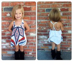 Someday I'll have a little girl to dress in cute outfits like this