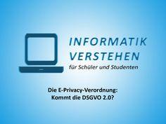 Die E-Privacy-Verord