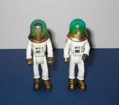 Vintage 1979 Fisher Price Adventure People Space Man and Woman Figures by IHadThatToy on Etsy