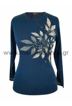 Μπλούζα πλεκτή ραφ Jumpers, Knitwear, Blouse, Long Sleeve, Sleeves, Shopping, Tops, Women, Fashion