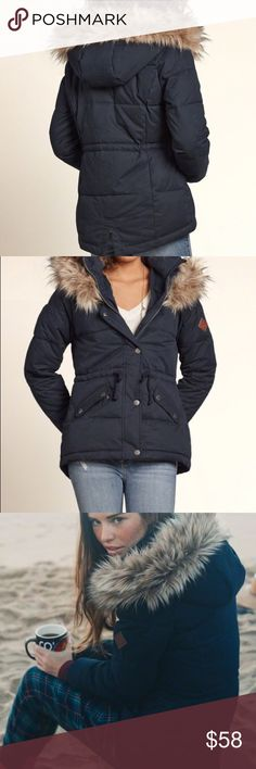 Hollister Elevated Puffer Jacket❤️!!! Beautiful, super warm, soft and puffy. Personally loved the puffiness and the warmth it provided but I bought two new jackets and don't need this anymore. It's not on sale anymore in hollister, perfect for that brick weather NY is getting and in other states, think about the winter storms ! 😞 you should buy this coat because yolo. It fits if you're a small or medium and you're physically thick in shape, I'm a medium but thick in shape. Credits to…