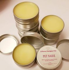Items similar to Handmade natural beeswax & lavender pet salve/butter or balm. For paws, noses, sores, hotspots and more. Suitable for dogs or cats. on Etsy Coconut Oil For Dogs, Coconut Oil For Skin, Organic Coconut Oil, Like Animals, Lavender Oil, Dog Paws, Pet Accessories, Pet Care, Shea Butter