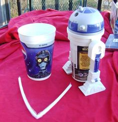Star Wars Episode 1 - R2D2 Pepsi Drinking Cup KFC/Pizza Hut/Taco Bell 1999 NEW