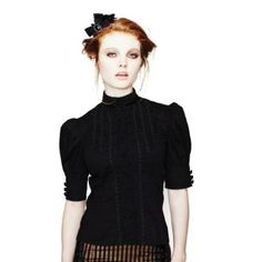 Spin Doctor Bridget Steampunk/Victorian Shirt at Atomic Cherry. Find this  Pin and more on Bohème Sauvage Outfit
