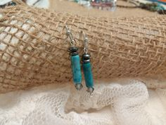 Check out this item in my Etsy shop https://www.etsy.com/listing/204264994/blue-dangle-earrings