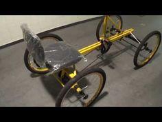 Bicicleta quadriciclo com 18 marchas. - YouTube