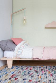 Blanket Stitched Quilt | Camomile London