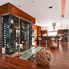 Wine Cellar Design Ideas www.OakvilleRealEstateOnline.com