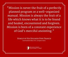Pope Francis Legionaries Of Christ, Pope Quotes, The Kingdom Of God, Pope Francis, Forgiveness, Healing, How To Plan, Life, Letting Go