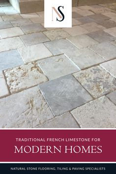 When you're looking to create an interior that reflects luxury living choose French limestone which create a unique setting when used as kitchen or bathroom floored tiles. We offer a range of colours and finishes, and you'll find more details over on our website. Pop on over there to find classic home design inspiration. #naturalstoneconsulting #naturalstone #stonetilefloors Limestone Flooring, Natural Stone Flooring, Bathroom Floor Tiles, Tile Floor, Kitchen Floor, Unique Settings, Decorative Tile, Stone Tiles, Classic House
