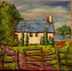 living with intention a new painting by Dorsey McHugh