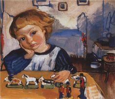 Portrait of Eugene Serebryakov - Zinaida Serebriakova