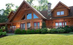 The Quain Log Home 3936 Sq. Ft.   Beaver Mountain