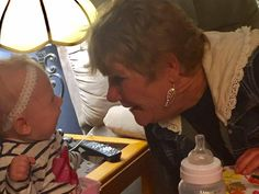 Octavia and Great Grandmother Jane Thanksgiving 2016