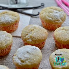 Allergy friendly vanilla cakes - Lunchbox – The Road to Loving My Thermo Mixer Whole Orange Cake, Oat Slice, Tasty, Yummy Food, Little Cakes, Mini Muffins, Vanilla Cake, Vanilla Cupcakes, Tray Bakes