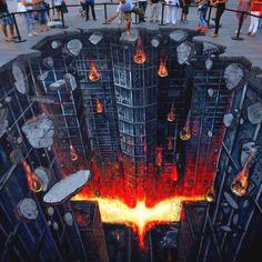 Street Art in Spain: The Dark Knight Rises