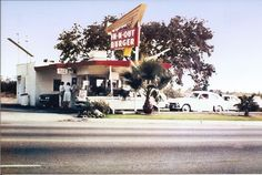 In-N-Out on Arrow Highway, West Covina, CA. What wonderful memories are made from. Vintage California, California Love, Los Angeles California, Southern California, California History, In And Out Burger, San Gabriel Valley, 21st Century Homes, Vintage Restaurant