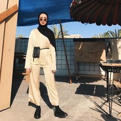 """dkny: """"Leena Alghouti wears the Ramadan 2017 collection, available exclusively at select DKNY stores. """""""