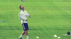 Cristiano Ronaldo Playing Ball