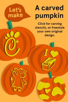 Grab your jack-o'-lantern a spot on our virtual front porch this Halloween, by submitting to our Virtual Halloween Pumpkin Parade now through 10/28/30. Carve your own original design, or use our templates for inspiration! Find them + all submission details here.