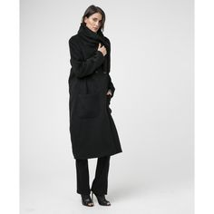 CRAFT JET BLACK COAT - New In - Womens