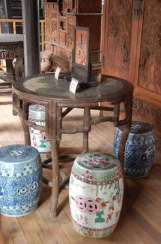 Chinese furniture Ming Dynasty stools