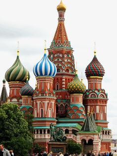 Catedral na Russia, Moscow, Red Square, #Church, #St-Basile