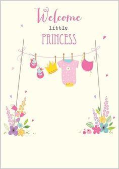 25 New Ideas Baby Born Card Printable Baby Girl Wishes, Baby Girl Cards, Welcome Baby Girls, New Baby Girls, New Baby Girl Congratulations, Baby Born Quotes, Baby Girl Born, Baby Posters, Karten Diy