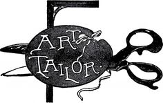 Vintage Tailor Sign Image! - The Graphics Fairy
