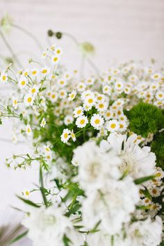 shoulda been a florist // wild and wonderful daisies + maidenhair ferns jojotastic.com