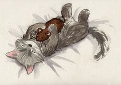 Kitty with Toy (prints $7)
