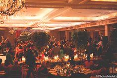 Puja and Amit's barn decor at Indian Wedding Reception for Gujarati Wedding at Westin Morristown. Along with  elegant affairs, BollywoodDJs,   Best Wedding Photographer PhotosMadeEz, Award winning photographer Mou Mukherjee. Gujarati Bride and Gujarati Groom Indian Wedding in New Jersey . Indian Wedding in NewJersey #amitandpuja