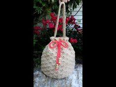 CROCHET How to #Crochet Shell Stitch - Crochet Purse Handbag #TUTORIAL #80 LEARN CROCHET - YouTube