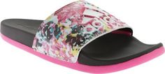 adidas Women's Adilette Supercloud Plus Graphic Sandal * Additional details at the pin image, click it : Slides sandals Red Sandals, Slide Sandals, Adidas Sandals, Pin Image, Image Link, Pretty Shoes, Adidas Women, Sunglasses Case, Black And White