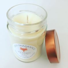 Who's ready for mimosa season?  This Foxy Fragrance soy candle is sure to put you in the mood for summer patio season.    Summer | Soy Candle | natural | handmade | mimosa candle | Mother's Day Gift   Shop now at www.foxybrand.etsy.com Soy Candles, Candle Jars, Shop Now, Fragrance, Patio, Mood, Natural, Summer, Gifts