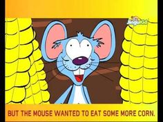 Moral stories for Kids - THE GREEDY MOUSE - Children Animated Stories