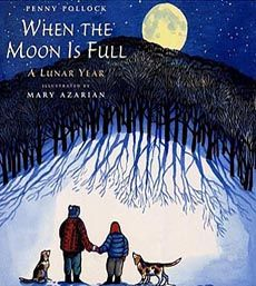 When the Moon is Full: A Lunar Year by Mary Azarian This lunar guide describes the folkloric names of twelve moons according to Native American tradition and showcases their defining characteristics in short verse Good Books, Books To Read, My Books, Moon For Kids, Moon Information, Short Verses, Planet For Kids, Moon Surface, Solar System