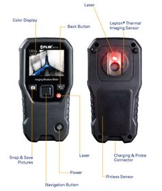 FLIR MR160: Two-In-One Moisture Meter and Thermal Imager