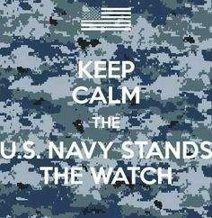 Navy Stands the Watch