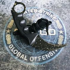 Tier 1 - black dot karambit